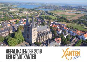 Abfallkalender 2019 (Stadt Xanten)