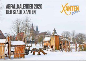 Abfallkalender 2020 Xanten